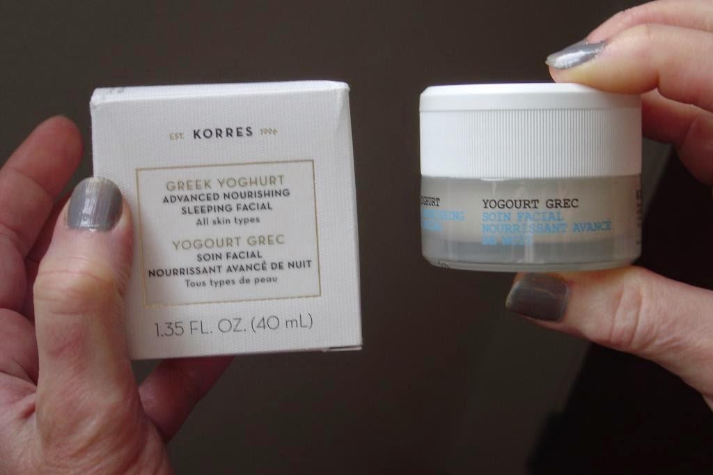 Korres Greek Yogurt Advanced Nourishing Sleeping Facial