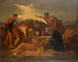 Queen Zenobia by Nicolas Poussin - History Paintings from Hermitage Museum