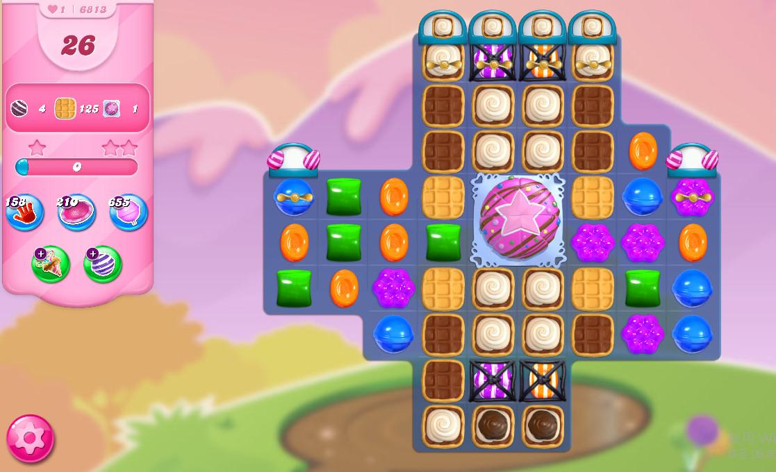 Candy Crush Saga level 6813