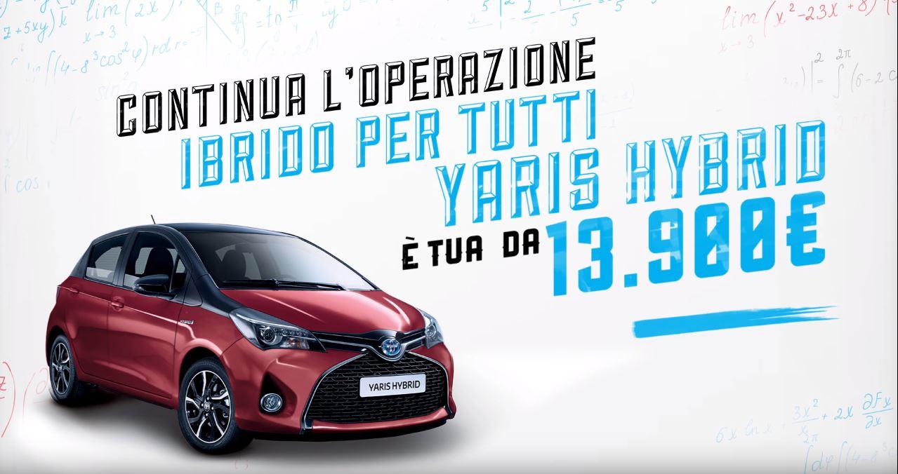 Canzone Toyota Yaris Hybrid Pubblicità