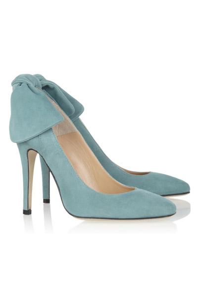 Zapato novia azul Carven