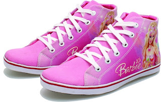 Sepatu Anak Perempuan  Karakter Barbie BRM 818