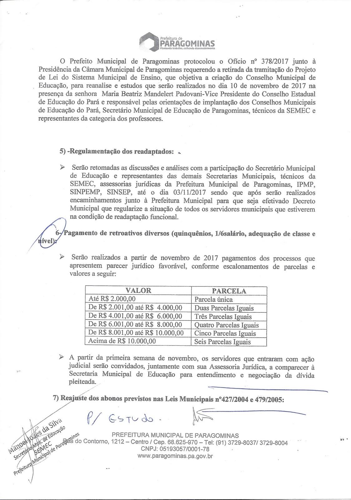 scan0002 - Professores de Paragominas deflagram GREVE