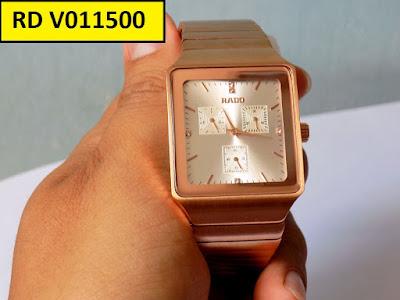 Đồng hồ nam mặt vuông Rado V011500