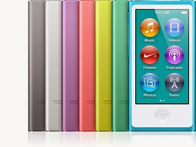 Apple - iPod Nano, The Touch music.