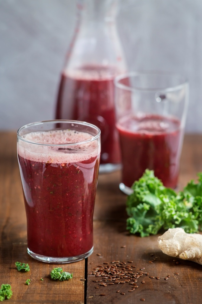Barleycup Kale Beetroot Smoothie, Avocado Cocoa Spread And Energising Porridge