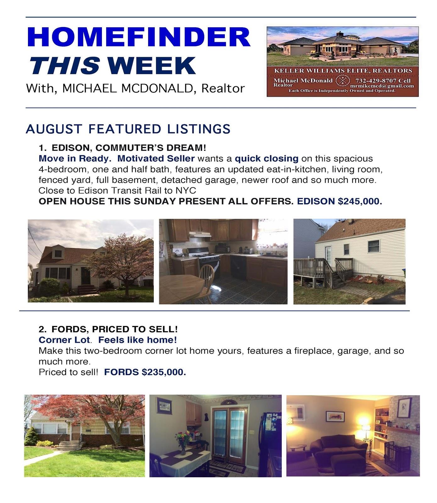 Michael McDonald\'s Real Estate Blog: August 2016