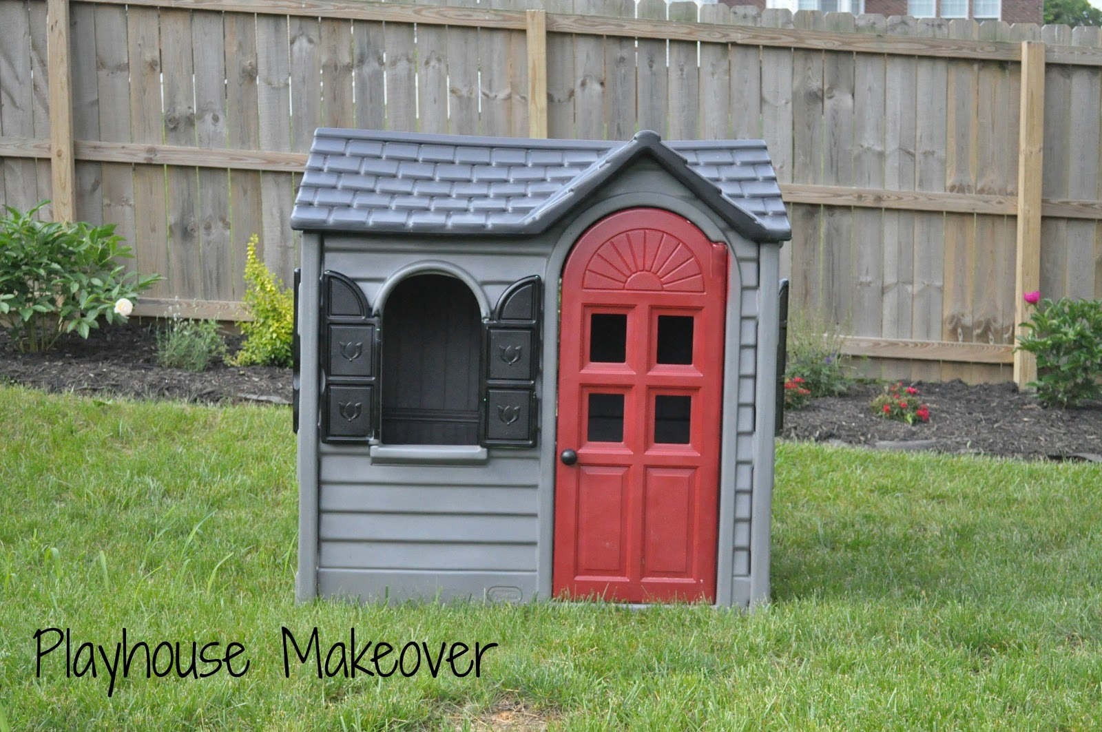 Play House Makeover