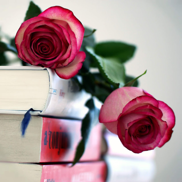 1000 Fragen an mich selbst #10 www.nanawhatelse.at Bücher und Blumen - mein Element!