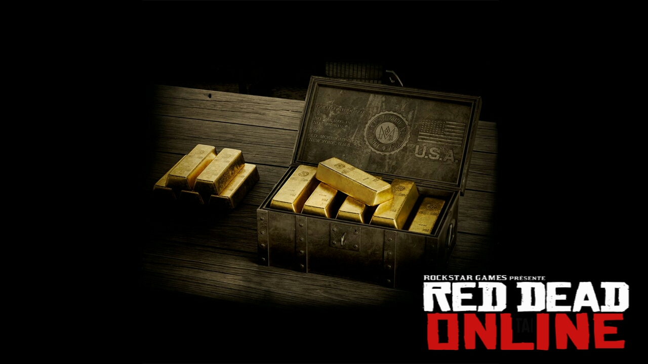 Red Dead Online's Gold Bars Purchase with real currency