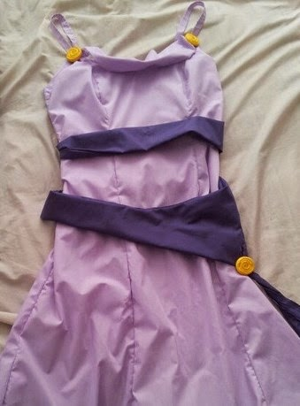 Megara Dress Walkthrough by Gingernutty
