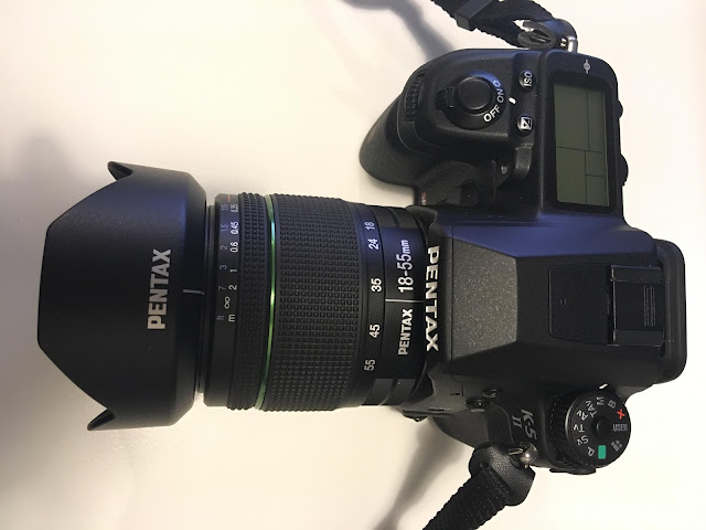 Pentax DSLR manual mode