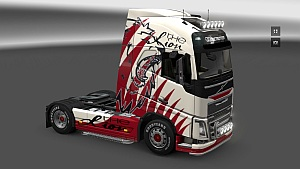 Lion Skin for Volvo FH16 2012