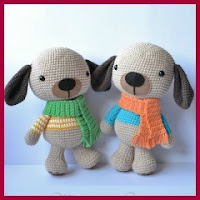Preciosos perritos amigurumi