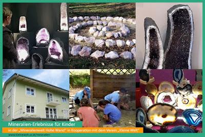 Bildcollage - Kinder und Mineraline