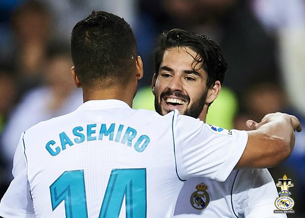 Casemiro Berharap Isco Tetap di Real Madrid