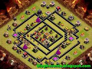 Base COC th 8 Anti Bintang 3 01