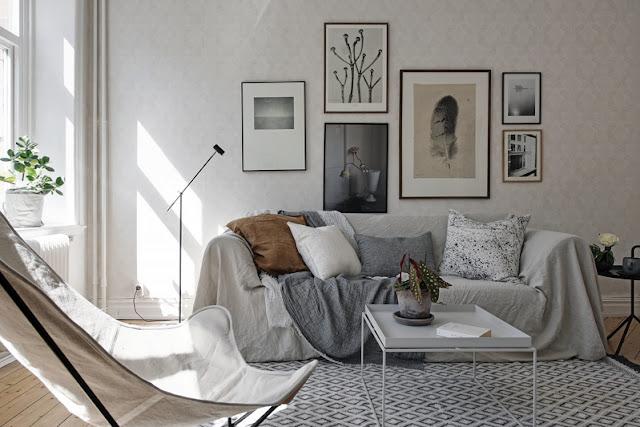 Interior escandinavo relajado chicanddeco