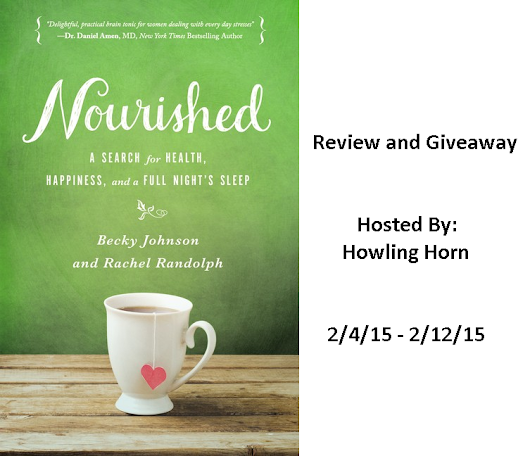 Nourished: A Search for Health, Happiness, and a Full Night's Sleep Review & Giveaway