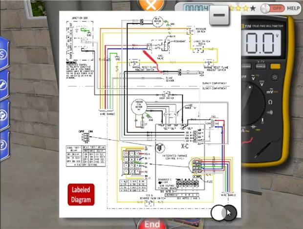 Online Interactive 3D HVAC Training Simulator | ForgeFX ... on residential plumbing diagrams, residential hvac diagram, house wiring simulator, residential breaker panel,