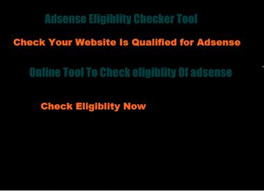 Adsense Eligiblity Checker Tool