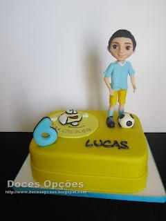 Bolo do 6º aniversário do Lucas