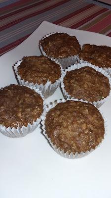 Muffins integrales de pistachos