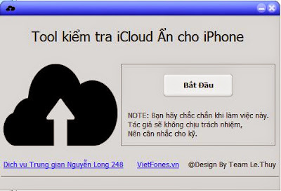Donwload NEW Tools 2015 for Checker iCloud