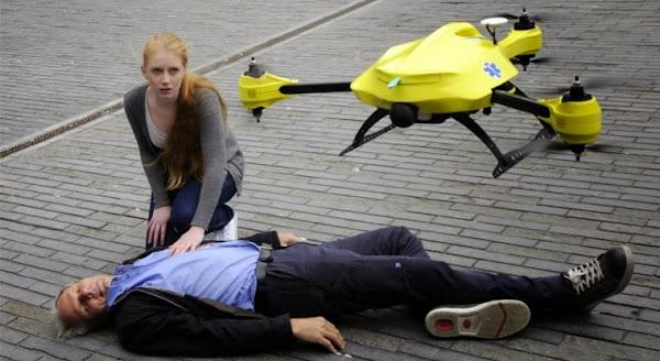Ambulancia Drone