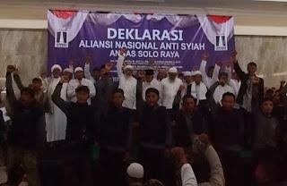 ANNAS Solo Raya Siap Nahi Munkar Bentengi Umat dari Aliran Sesat Syiah dan Komunis