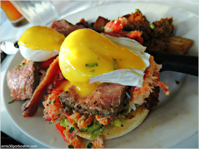 Steak and Lobster BLT Benedict $25