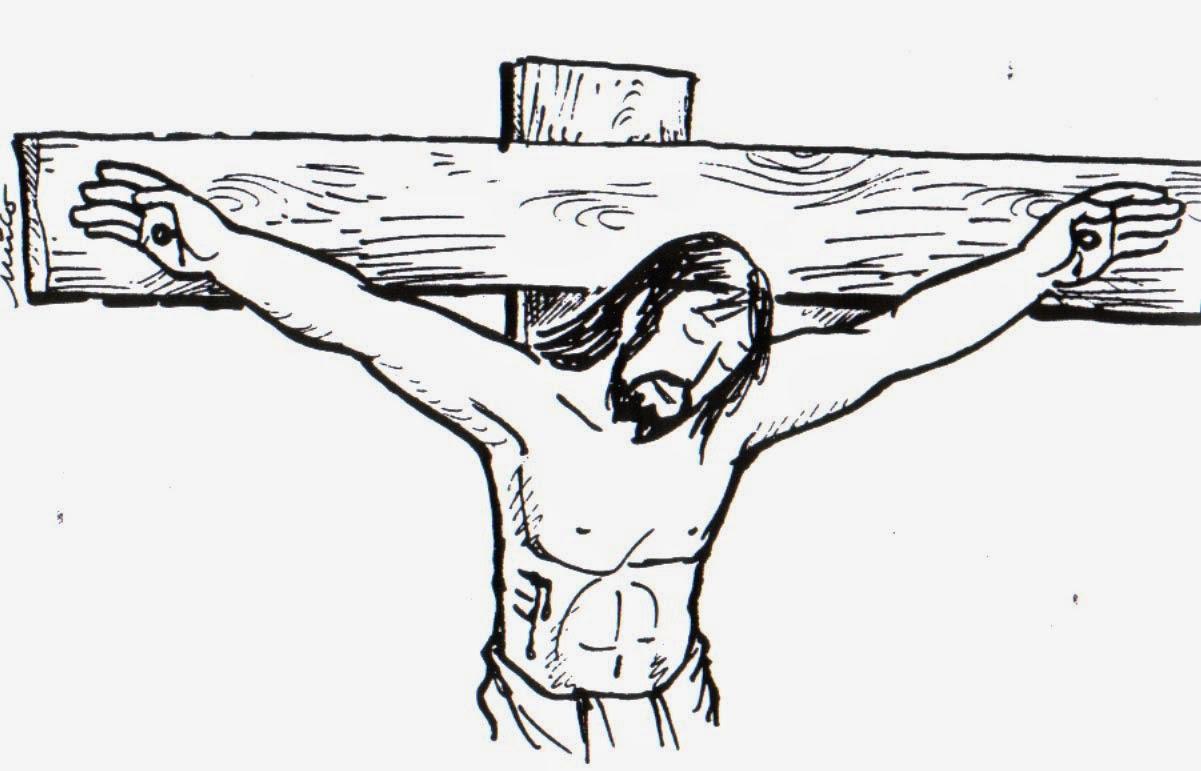 Educar Con Jesús Dibujos Para El Viernes Santo