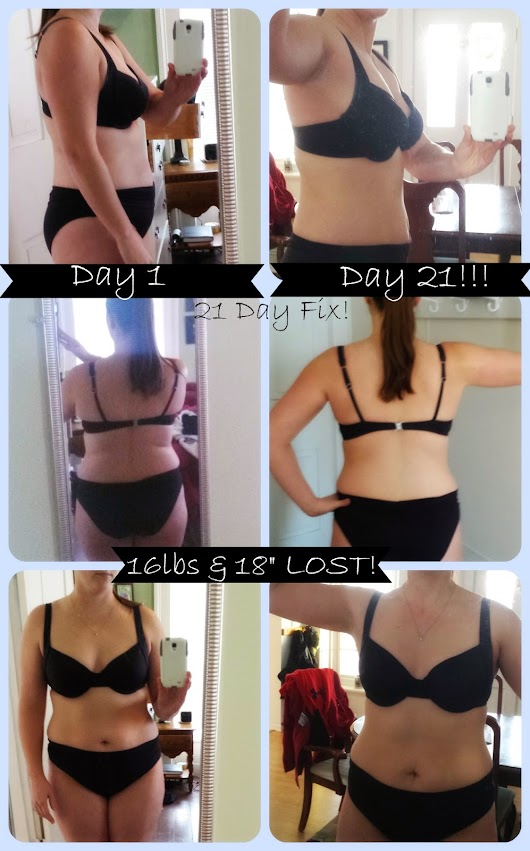 21 Day Fix Results!