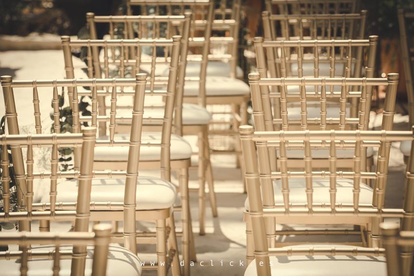 sillas de boda