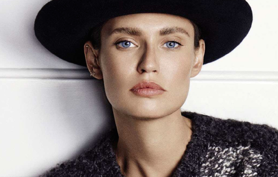 make-up boyish: bianca balti by fabio leidi for grazia france 3rd october 2014