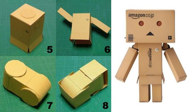 Membuat Robot danbo dari Kardus