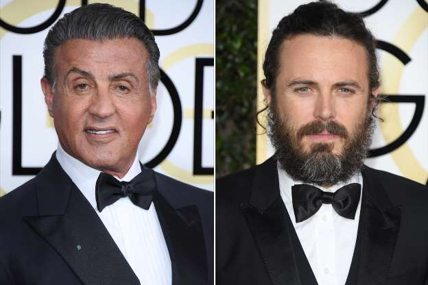 Casey Affleck, Sylvester Stallone Clashed Over Seating at the Golden Globes: Sources