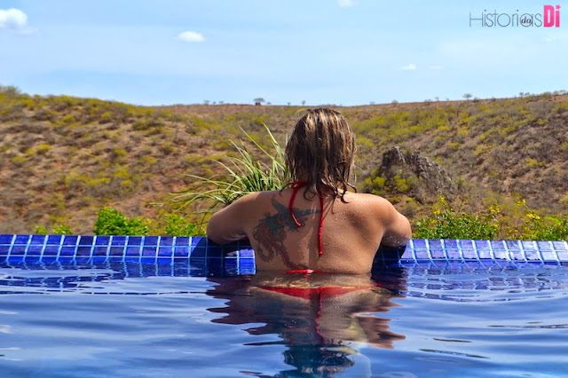 Pedra do Sino Hotel - piscina excelente para relaxar!