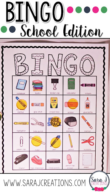 Need some ideas for back to school activities to use in your classroom during the first week of school?  I've got you covered with get to know you activities, bingo, classroom rules and a solving problems FREEBIE!