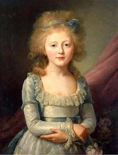 Вуаль Жан Луи Jean-Louis Voille «Великая княгиня Елена Павловна в детстве»