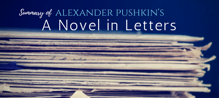 Summary of A Novel in Letters