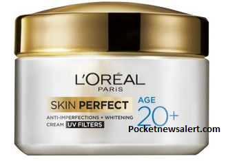 L'Oreal Paris Skin Perfect Anti-imperfections and Whitening Cream