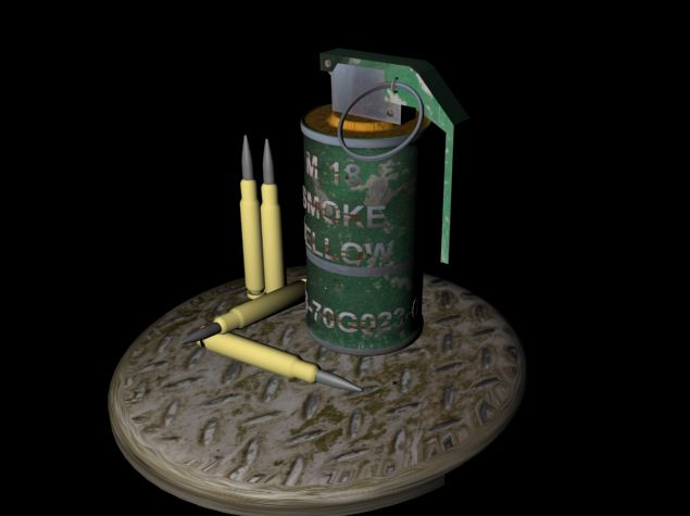 Sleepers Games Design: M18 smoke grenade