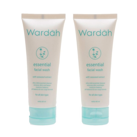 Review Wardah Essential Facial Wash