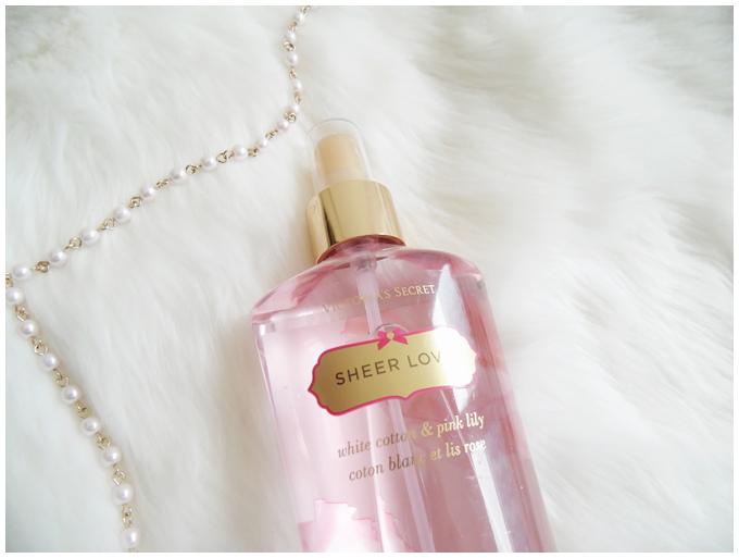 favorite five beauty products | February 2016 | victoria's secret sheer love fragrance mist | more details on my blog http://junegold.blogspot.de | life & style diary from hamburg | #beauty #victoriassecret #fragrancemist #sheerlove