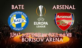 Prediksi BATE Borisov vs Arsenal 29 September 2017