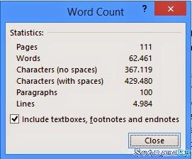 Cara Super Mudah Menghitung Jumlah Karakter Tulisan