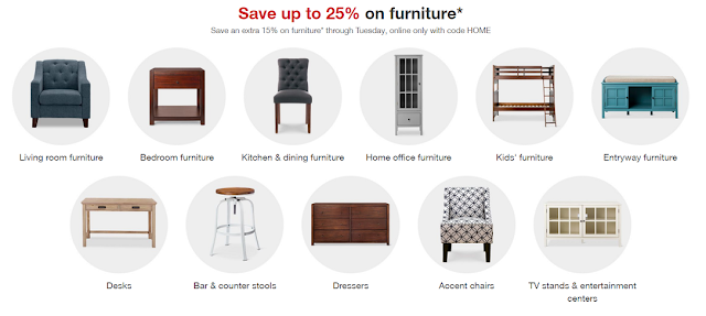 If You Are In Need Of Any Furniture, This Week At Target You Can Save Up To  25% In Their Home Department. Even Better, Through Today Tuesday, March  27th, ...
