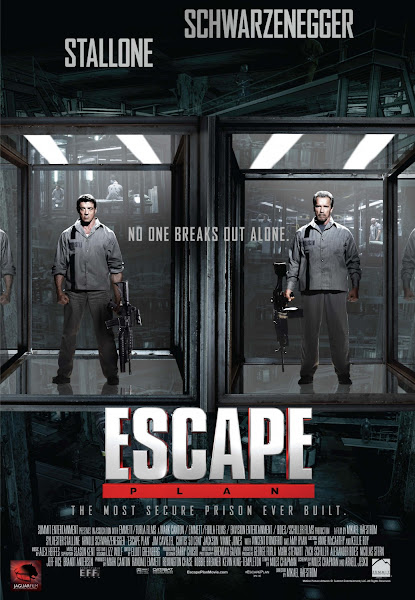 Poster of Escape Plan 2013 Hindi 720p BRRip Dual Audio Full Movie Download