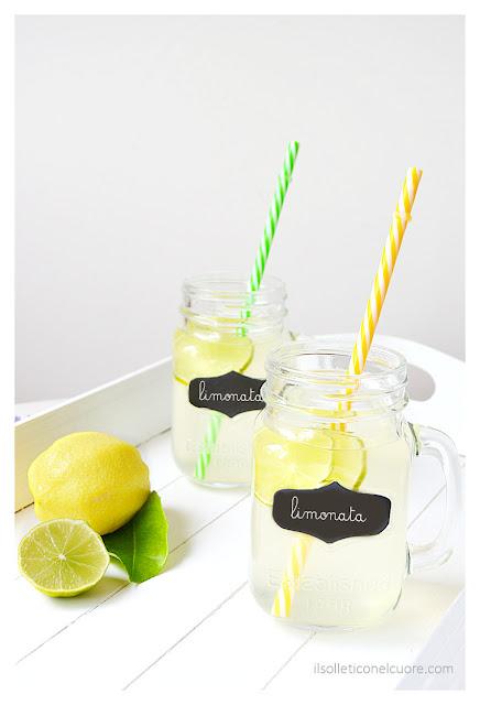 limonata-con lime-e-sciroppo-allo-zenzero
